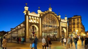 La reapertura del Mercado Central de Zaragoza
