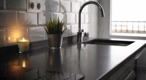 El mármol negro de Calatorao, la mejor opción para cocinas y baños